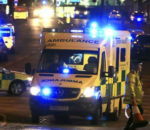 Terror attack outside the Manchester Arena. (Image Source: The Indian Express)
