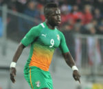 Cheick Tiote plying his trade for Cote divoire.