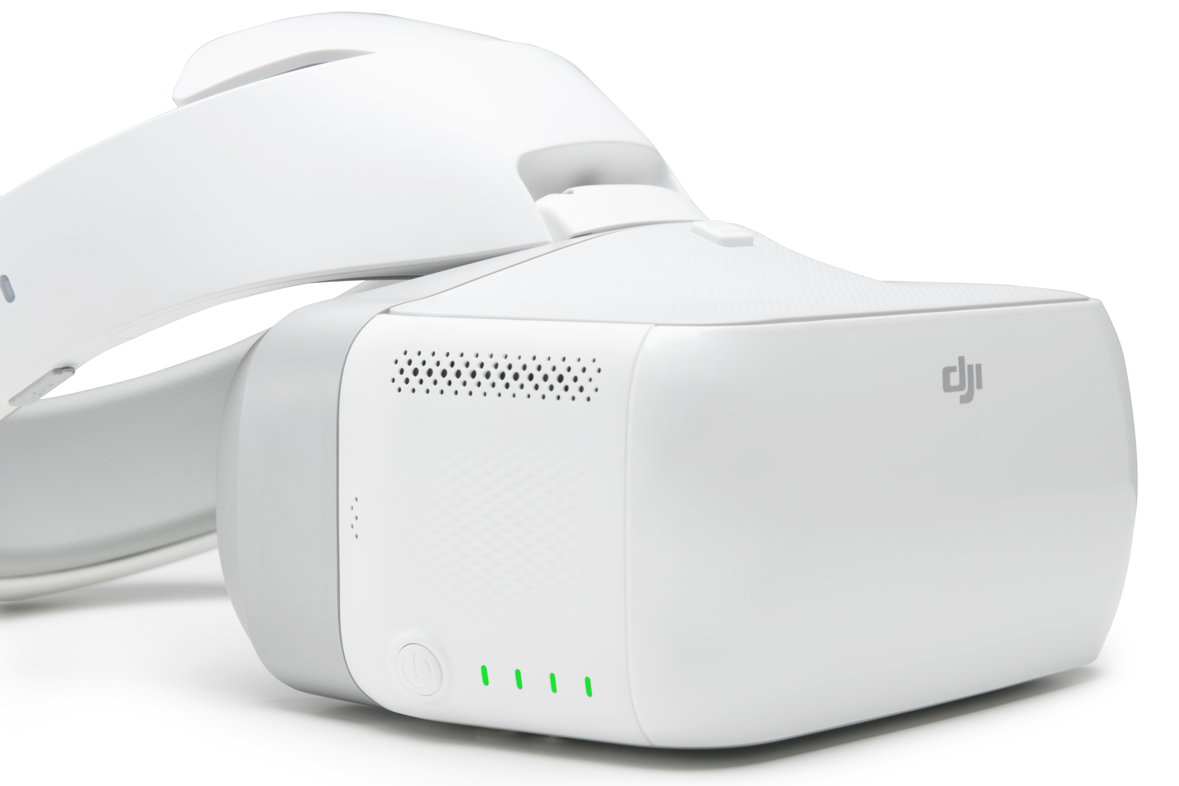 The new DJI Goggle allows users to stream Drone footage in real time.