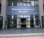 Microsoft head office in Johannesburg, South Africa.