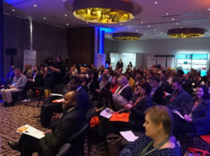 A packed Raddison Blu Gautrain Hotel Conference hall for the Education Innovation Summit 2017. (Image: Dean Workman)