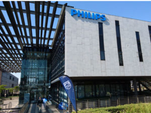 Philips head office in  Johannesburg, South Africa.