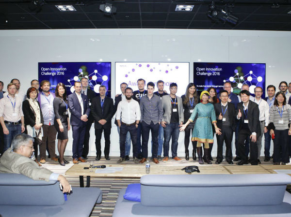 Finalists of the Nokia Open Innovation Challenge  2016.