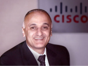 Ali Amer new Managing Director for Global Service Provider Sales in the Middle East and Africa at Cisco.
