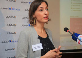 Estelle Verdier, the COO & Co-founder of Jumia Travel.
