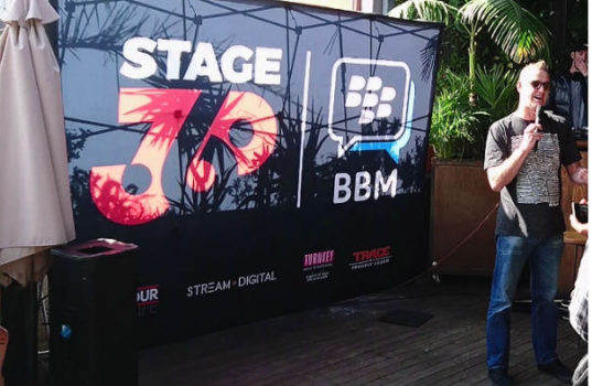 STAGE360 launches on BBM.