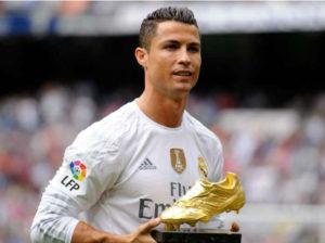 Cristiano Ronaldo, professional football player.