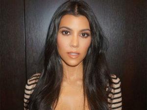 Kourtney Kardashian, reality TV star and businesswomen.
