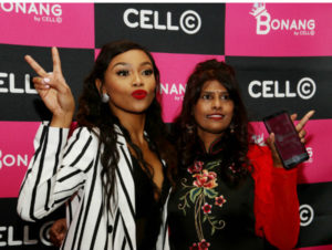 South African Superstar Bonang Launches Cell C App