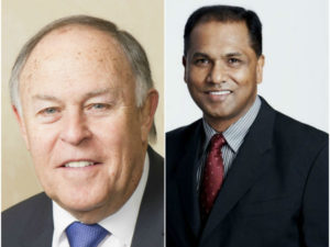 Kuben Pillay and Larry Nestadt appointed new chairman and deputy chairman of Cell C board.