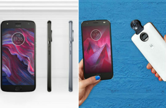 Motorola Launches New Moto x4 and Moto z2 Force Addition