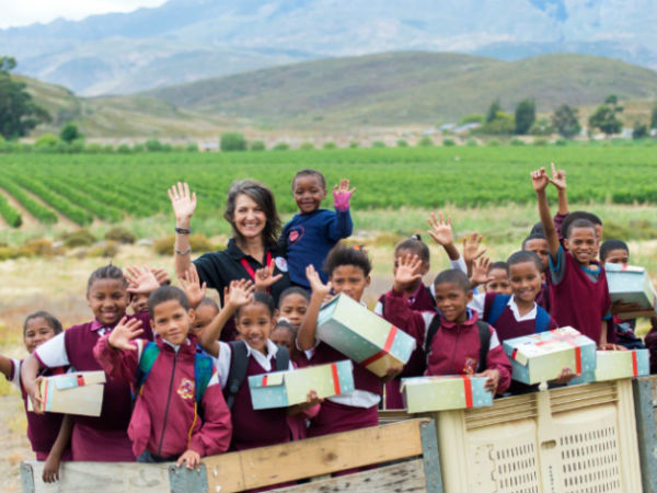 The Santa Shoebox Project (SSB) has been awarded the 2017 Best Use of Tech by an NGO Award. (image source: Get it Durban)