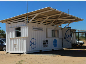 Dell unveil solar powered Learning Lab in Diepsloot