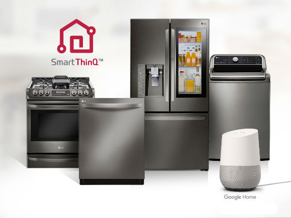 Researchers discover security vulnerability in home IoT appliances . (image source: LG)