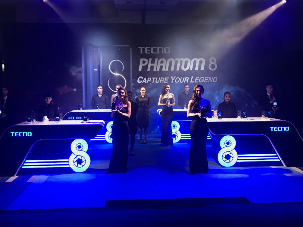 Tecno Mobile launches Phantom 8