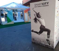 The Smart City Expo World Congress 2017, Barcelona, Spain.