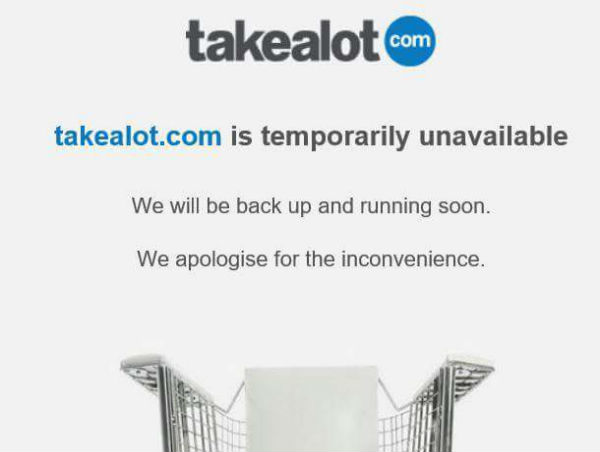Darkness on Black Friday as online stores crash