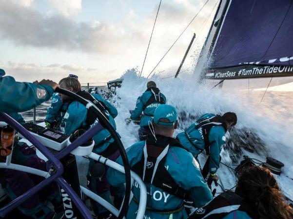 SAP brings data science and biometrics to Volvo Ocean Race.