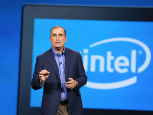 Intel CEO urges tech leaders to restore customer confidence over data