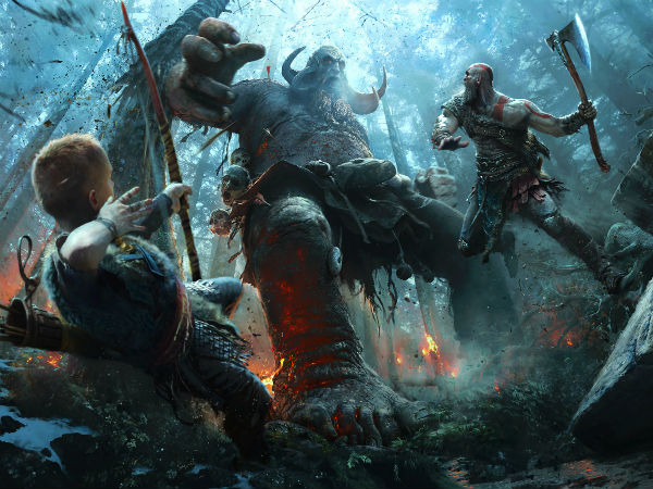 God of War is here