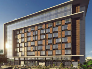 Hilton built the first internationally branded hotel in Niger. (image source: Niamey_Rendering_HR-1)