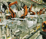 In manufacturing, the rise of 'smart factories' has re-invented the way factories operate.