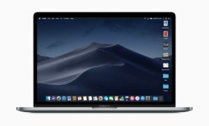 Mac Dark Mode and Dynamic Desktop (Image from www.apple.com)