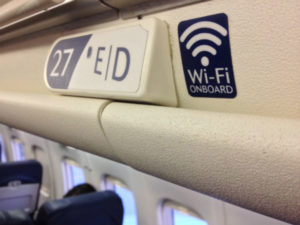 The first high-speed, in-flight Wi-Fi installations in Africa (Image from: Business Wire)