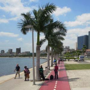 Marginal Promenade in Luanda, Angola, 2015