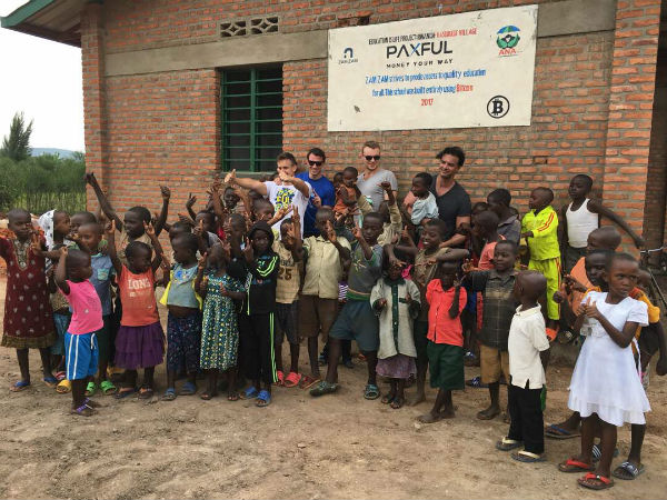 The first school sponsored by the #BuiltWithBitcoin program is located in Kasebigege Village inRwanda'sBugesera District.