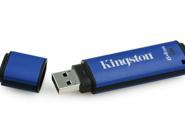 Encrypted USB drives and privacy screens improve data security