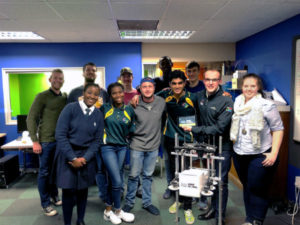 South Africa takes 6th place in Global Robotics Olympics