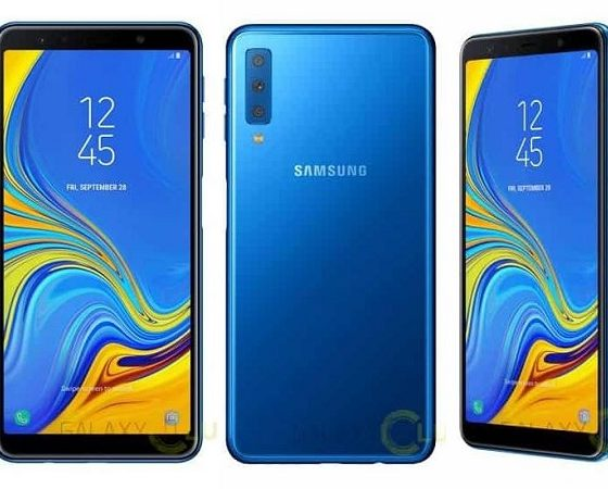 Samsung Galaxy A7 set to feature three rear cameras