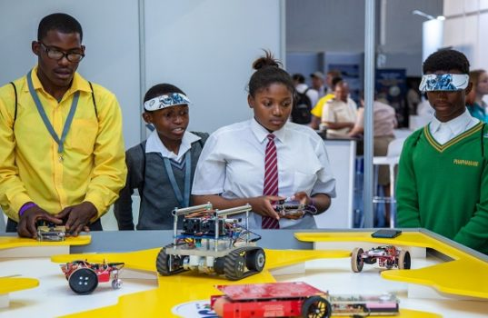 Encouraging South African Youth to Play Active Role in 4IR Science, Technology, Engineering and Math (STEM) Innovation