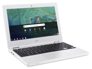 How the Chromebook allows students to become content creators