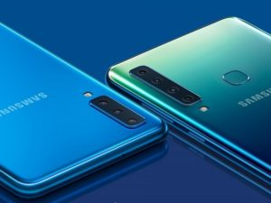 Samsung welcomes the Galaxy A9 to the line-up.