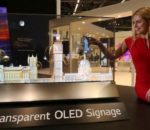 LG showcases unveils Transparent OLED display at GITEX 2018
