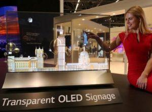 LG showcases unveils Transparent OLED display at GITEX 2018