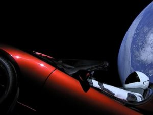 SpaceX launched the Tesla Roadster and its inanimate passenger, Starman, into space as the payload on the Falcon Heavy rocket's first voyage in February 2018