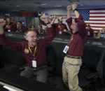 NASA's InSight lander touched down on the surface of Mars to commence a two-year long research mission.