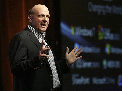 Steve Ballmer, CEO, Microsoft (Image: Microsoft Sweden)