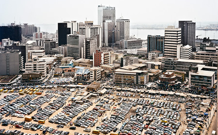Lagos, Nigeria. The country has an active and growing ICT sector.