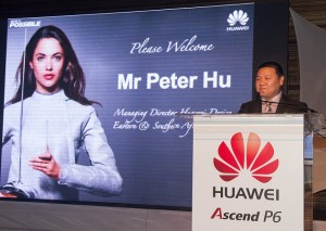 Peter Hu, Managing Director of Huawei Device : Eastern and Southern Africa Region (image: Axel Buhrmann)