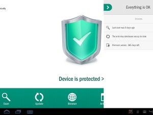 Kaspersky Lab announced the release of Kaspersky Internet Security for Android locally (image: Kaspersky Lab)