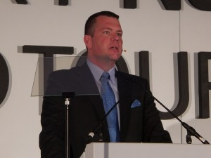 Craige Fleischer, Samsung's Director for Mobile Communications in South Africa (image: Charlie Fripp)