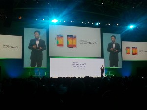 President and CEO of Samsung Africa Sung Yong Hong (image: Charlie Fripp)