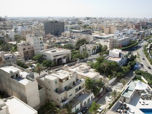 In June 2017 mobile and landline services were restored in Sirte after they had been disconnected by Islamic State. (Image source: Tripoli, Danie Nel via Shutterstock.com)
