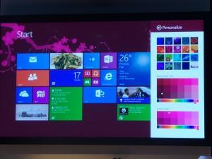 A screenshot of Windows 8.1 (image: Charlie Fripp