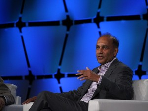 Intel Capital's President Arvind Sodhani (image: Charlie Fripp)