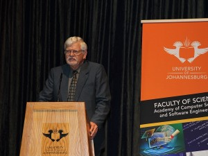 Professor Basie von Solms, Director of the University of Johannesburg's (UJ) Centre for Cyber Security. (Image source: UJ)
